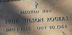 Susie <i>Wilson</i> Rogers