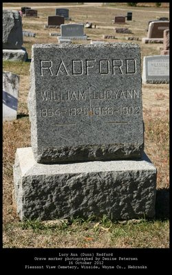 Lucy Ann <i>Dunn</i> Radford
