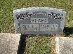 Sarah <i>Hale</i> Adams