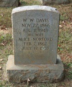 Alice Susan <i>Norford</i> Davis