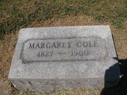Margaret <i>Warsham</i> Cole