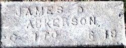 James D Ackerson