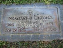 Vernon J Lesniak