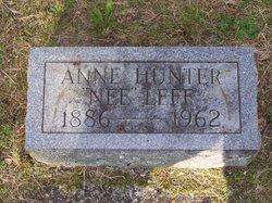 Anne <i>Leff</i> Hunter