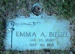 Emma <i>Clausen</i> Biegel