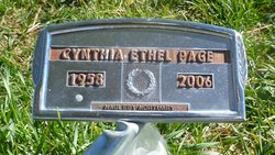 Cynthia Ethel <i>Thomas</i> Page