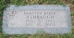 Dorothy <i>Baker</i> Ashbaugh