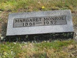 Margaret Maggie <i>McMaster</i> Monroe