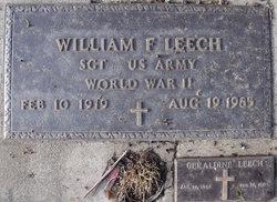 William Franklin Bill Leech