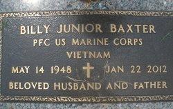 PFC Billy Junior Baxter, Sr