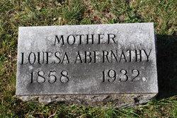 Louisa Christina <i>Fritz</i> Abernathy