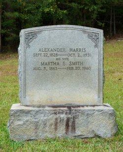 Martha E <i>Smith</i> Harris