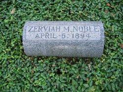 Zerviah Metcalf <i>Robinson</i> Noble
