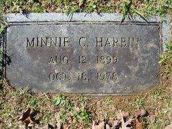 Minnie <i>Crutchfield</i> Harbin