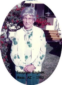 Josephine <i>Nachazel</i> Bingham