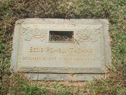 Essie Powell Thomas