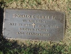Donald Eugene Guiles, Sr