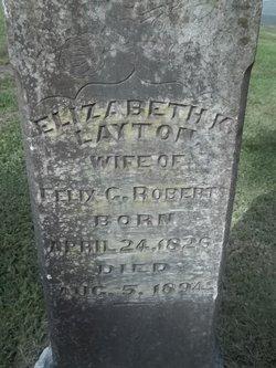 Elizabeth <i>Layton</i> Roberts