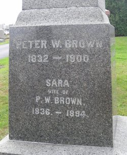 Sara <i>Smith</i> Brown