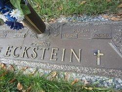 Ruth G. <i>Getchius</i> Eckstein