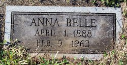 Anna Belle <i>West</i> Dubel