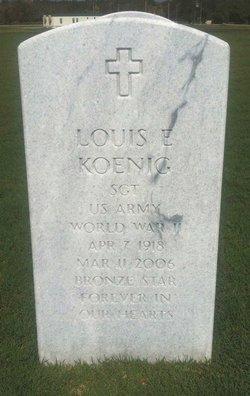Louis Edward Koenig