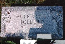 Alice Scott Tolbert