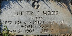Luther K Moor