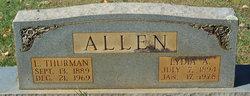 L Thurman Allen