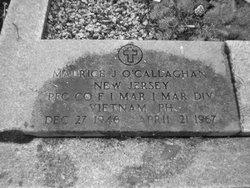 PFC Maurice Joseph O'Callaghan