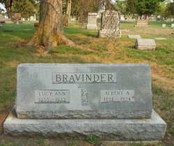 Lucy Ann <i>Lyon</i> Bravinder