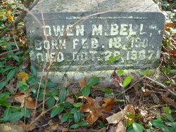 Owen M Bell