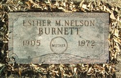 Esther Malissa <i>Price</i> Burnett