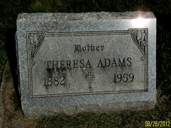 Theresa <i>Riter</i> Adams