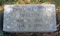 Addie Emma <i>Waskom</i> Amerson