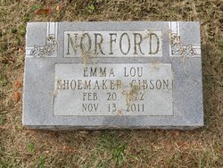 Emma Lou <i>Shoemaker</i> Norford