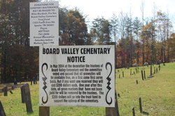 Board Valley Cemetery
