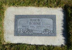 Olive May Bohne