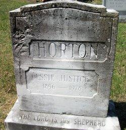 Essie Mae <i>Justice</i> Horton