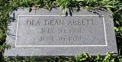 Ola Dean <i>Paris</i> Abbett
