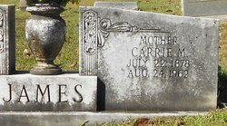 Carrie M. James