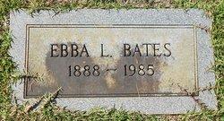 Ebba L. <i>Thigpen</i> Bates