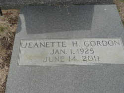 Jeanette <i>Helms</i> Gordon