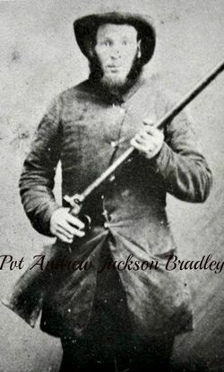 Pvt Andrew Jackson Bradley