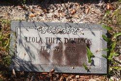 Leola <i>Tufts</i> Davidson