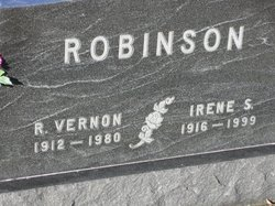 Irene E <i>Stethem</i> Robinson