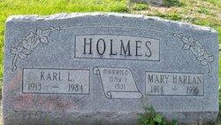 Mary <i>Harlan</i> Holmes