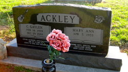 Clifford Gaylen Ackley