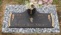 Mattie Lou <i>Richardson</i> Kilgore