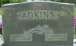 Ransley A Adkins